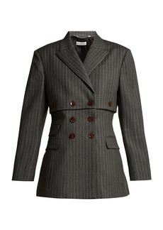 Altuzarra Millett pinstripe virgin wool-blend jacket