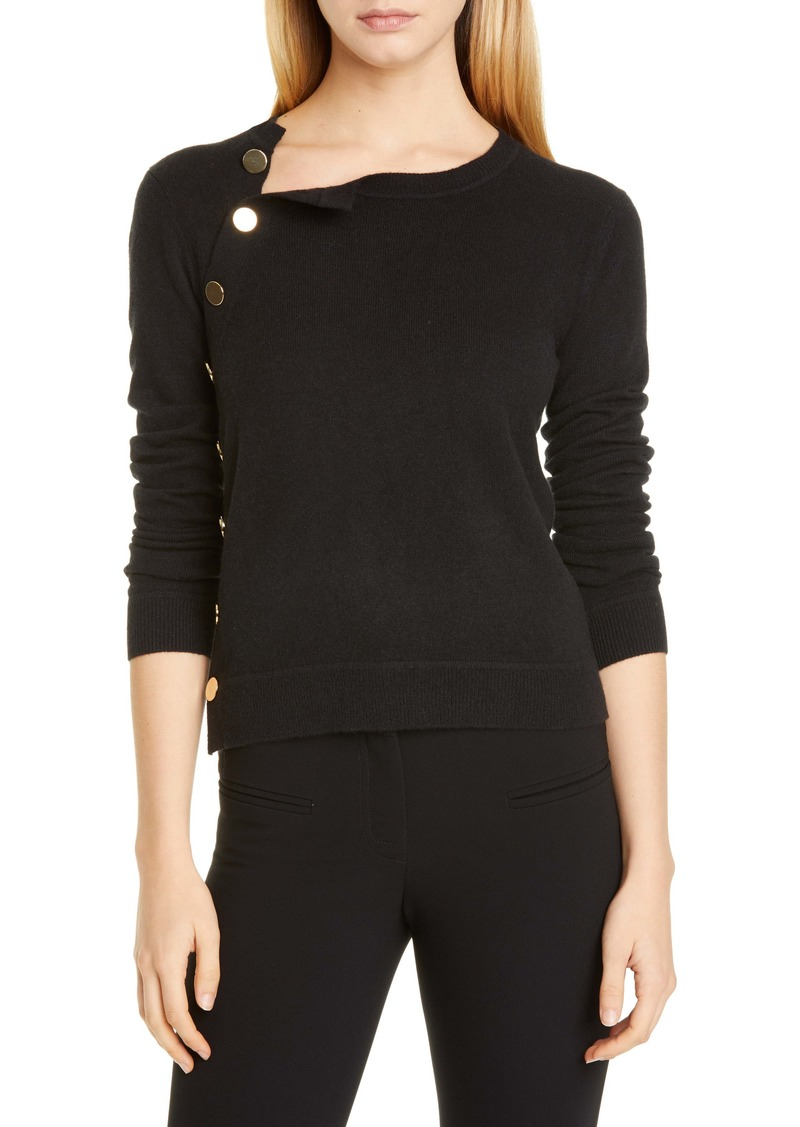 Altuzarra Minamoto Side Button Cashmere Sweater