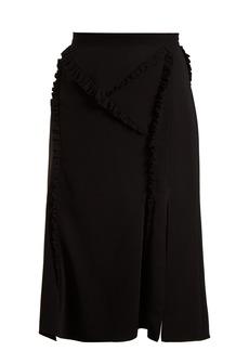 Altuzarra Minaret ruffle-trimmed skirt