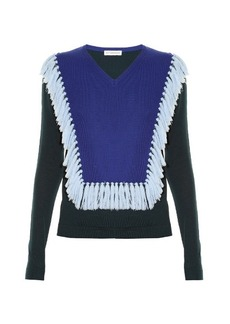 Altuzarra Ming tassel-trim wool sweater
