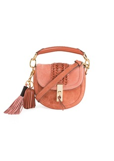 Altuzarra Mini Braided Top-Handle Saddle Bag