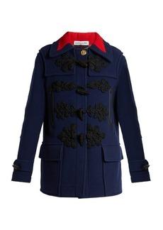 Altuzarra Morley double-breasted wool duffle coat