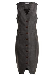Altuzarra Naomi single-breasted wool dress