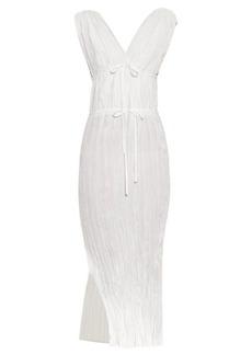 Altuzarra Navrre crinkle-poplin midi dress