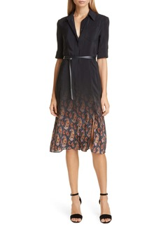 Altuzarra Ombré Paisley Silk Shirtdress