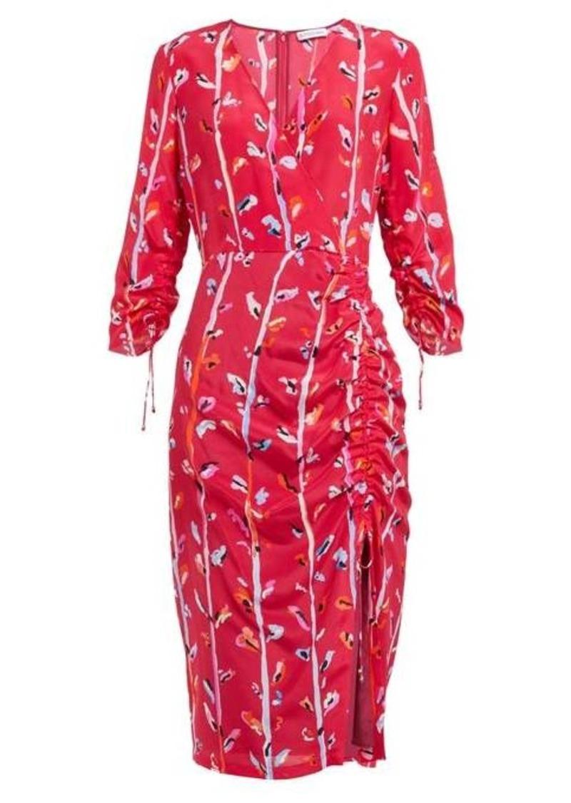 Altuzarra Oriana floral-print silk dress