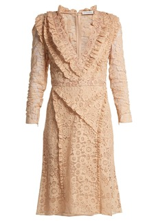 Altuzarra Ourika Valencienne-lace dress