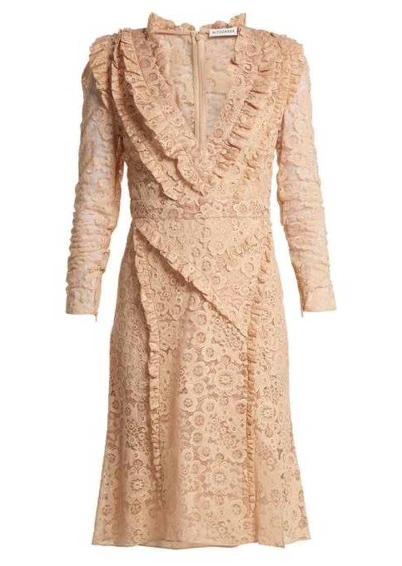 Altuzarra Ourika Valencienne-lace dress