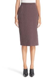 Altuzarra Plaid Pencil Skirt