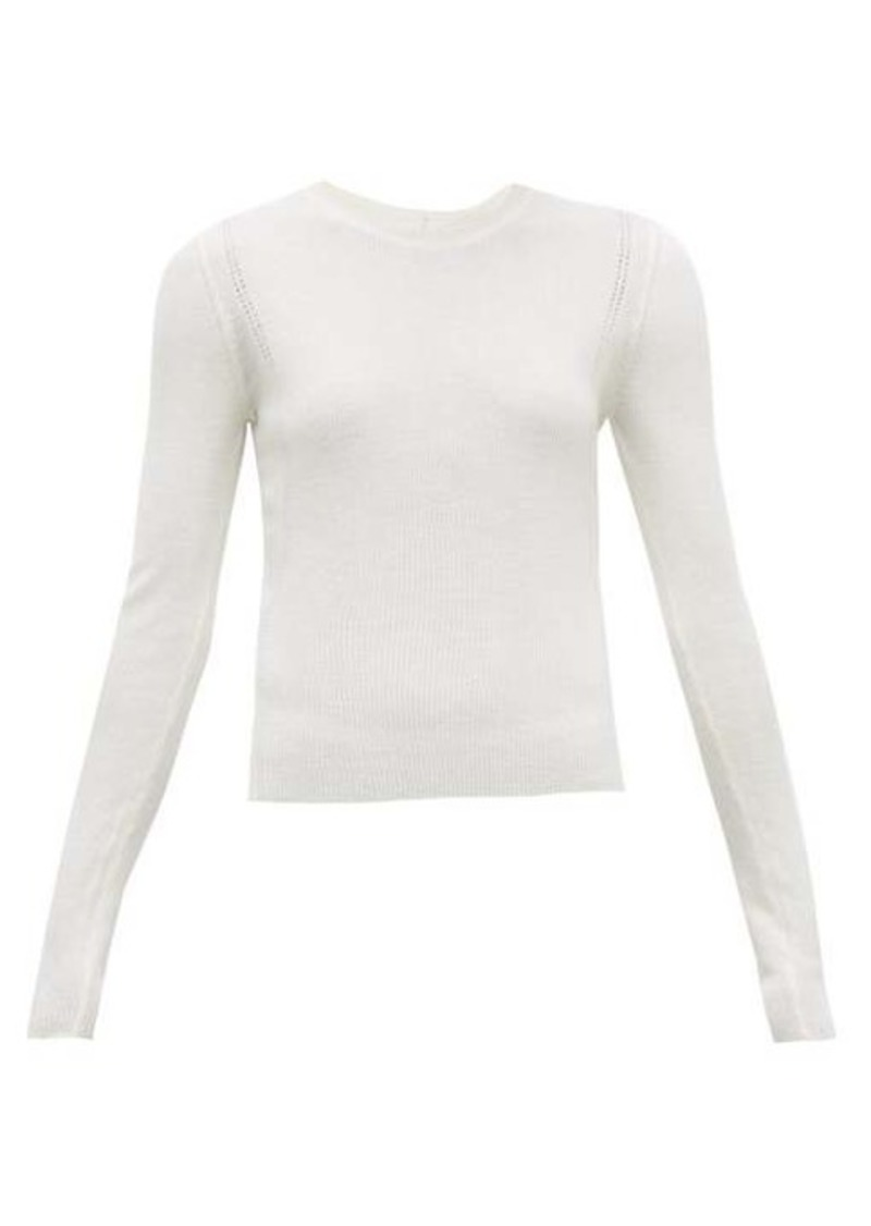 Altuzarra Platte button-back wool-blend sweater