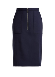 Altuzarra Pollard wool-piqué pencil skirt