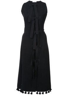 Altuzarra pom pom hem dress - Black