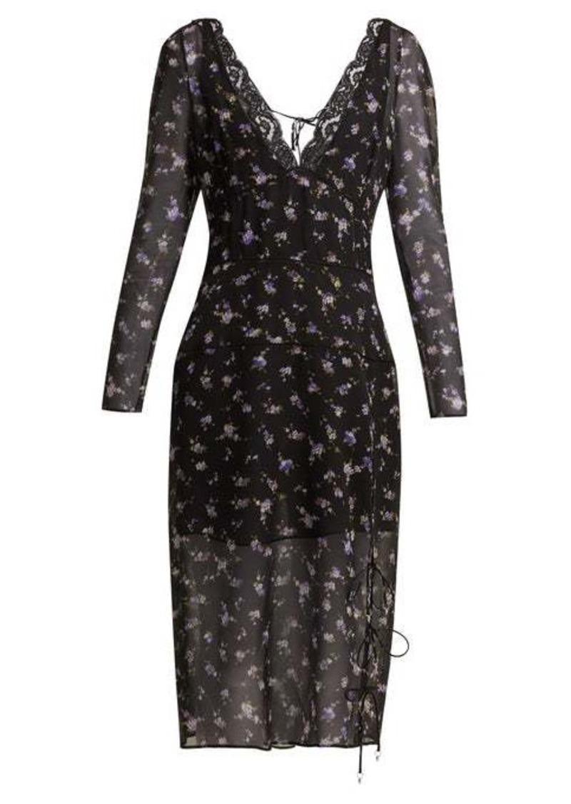 Altuzarra Rosmarino silk-georgette midi dress