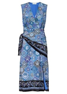Altuzarra Sade paisley-print silk wrap dress