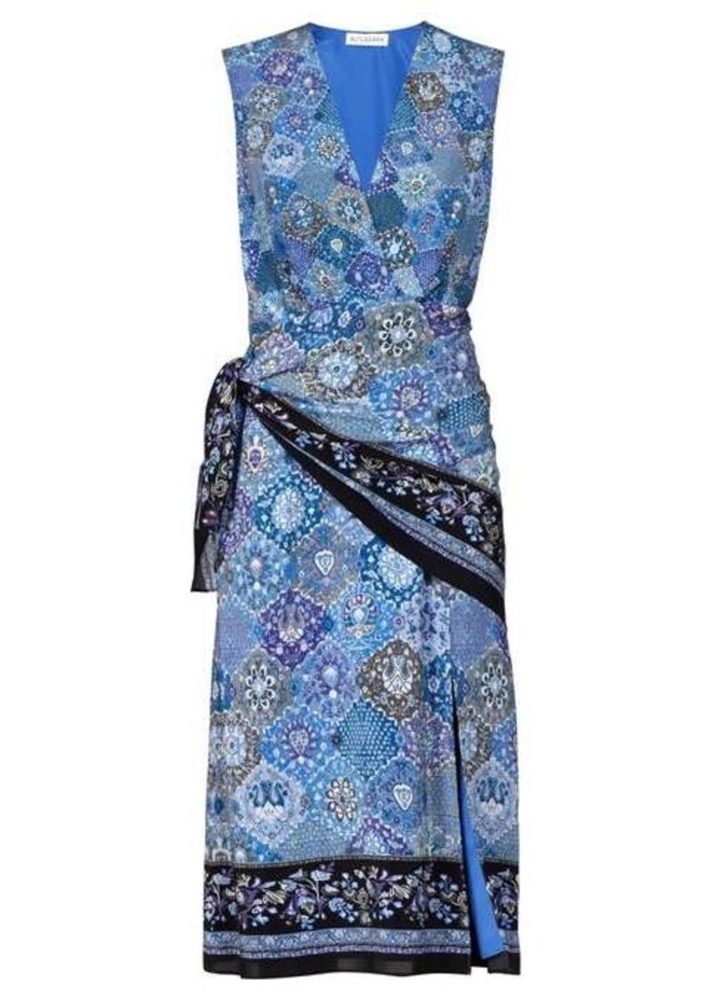 Altuzarra Sade paisley-print silk wrap dress