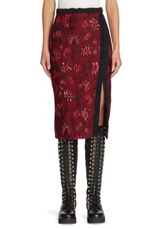 Altuzarra Sandrin Wool & Silk Skirt