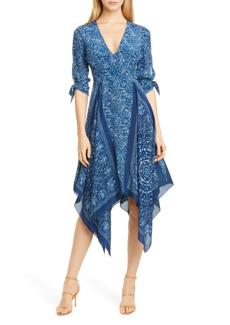 Altuzarra Scarf Print Silk Dress