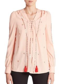 Altuzarra Sequin Embellished Blouse