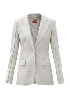Altuzarra Shira single-breasted brushed-twill suit jacket