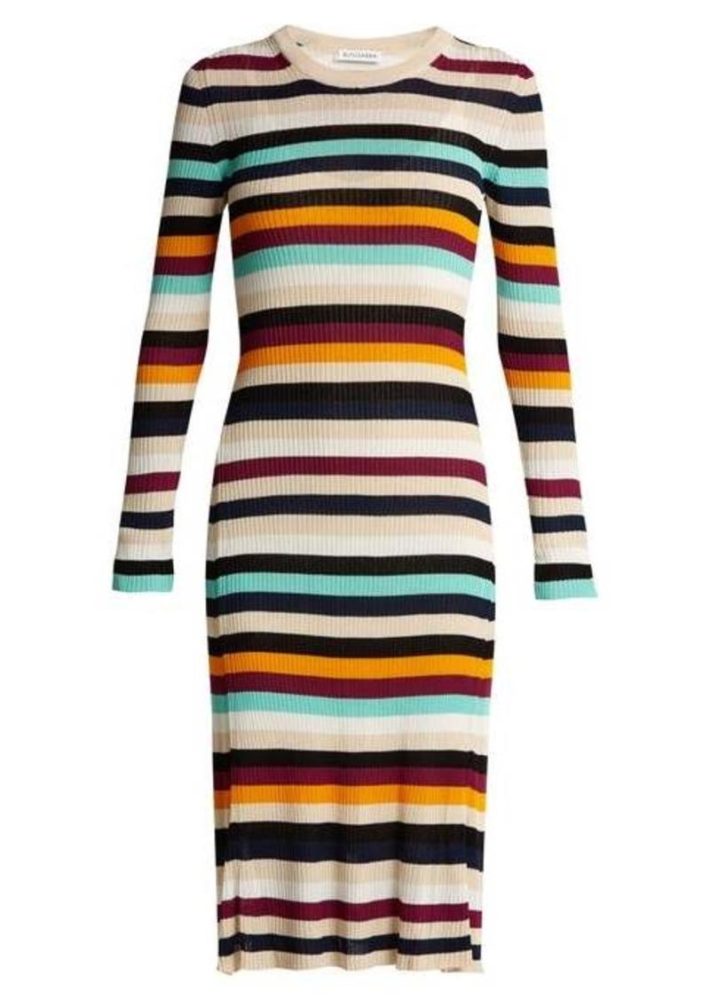 Altuzarra Stills striped knit dress