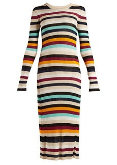 Altuzarra Stills striped knit dress