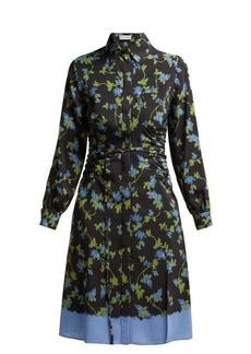 Altuzarra Strada dip-dye ruched silk dress