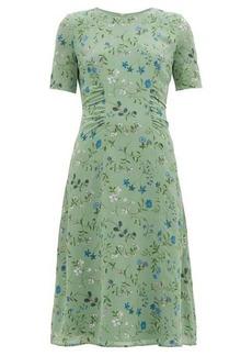 Altuzarra Sylvia silk-crepe midi tea dress