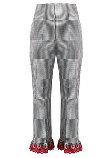 Altuzarra Taos stretch-cotton trousers