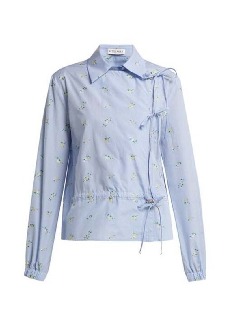 Altuzarra Terese floral shirt
