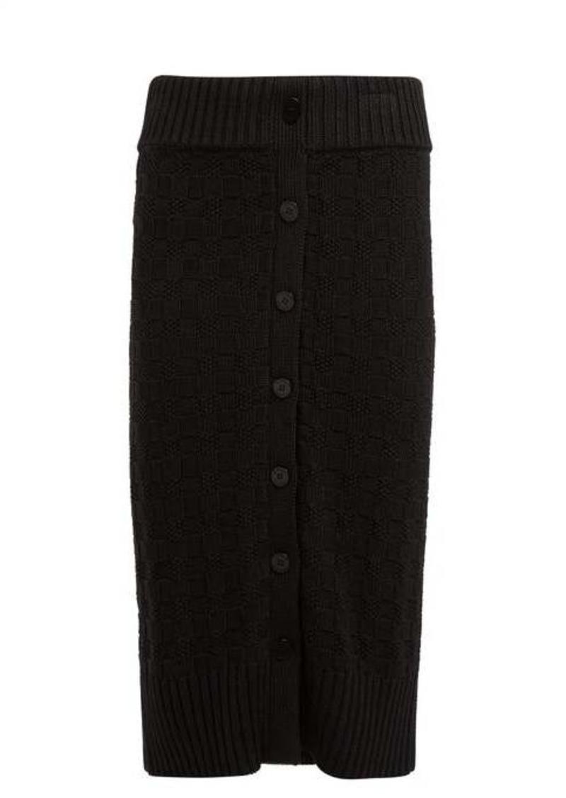 Altuzarra Valentina cotton-blend pencil skirt