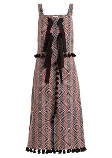 Altuzarra Villette diamond-jacquard dress