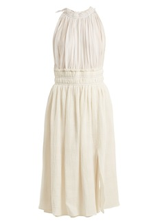 Altuzarra Vivienne gathered midi dress