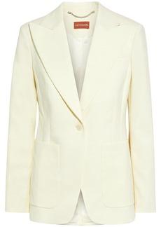 Altuzarra Woman Elford Wool-blend Blazer Ivory