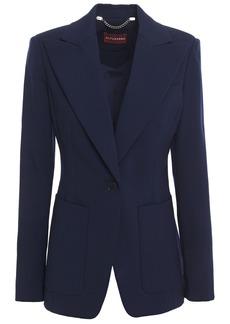 Altuzarra Woman Linen Blazer Midnight Blue