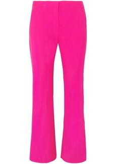 Altuzarra Woman Nettle Wool-blend Flared Pants Bright Pink
