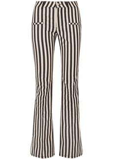 Altuzarra Woman Serge Striped Cotton-blend Flared Pants Ivory
