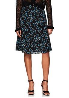 Altuzarra Women's Caroline Floral Silk Skirt