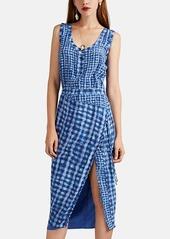 Altuzarra Women's Eleonora Gingham Silk Dress