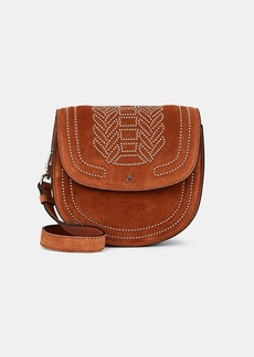 Altuzarra Women's Ghianda Small Suede Saddle Bag - Brown