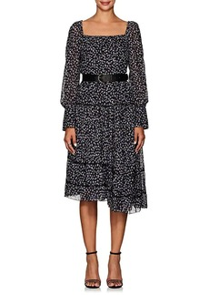 Altuzarra Women's Lahiri Floral Silk-Blend Dress