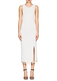 Altuzarra Women's Lutetia Rib-Knit Midi-Dress