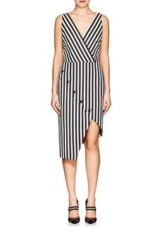 Altuzarra Women's Marceau Striped Cotton Sheath Dress