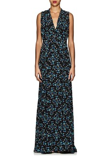 Altuzarra Women's Medina Floral Silk Maxi Dress