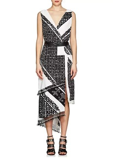 Altuzarra Women's Pavilion Silk Crêpe De Chine Dress