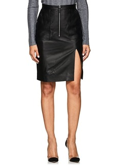 Altuzarra Women's Pollard Leather Pencil Skirt