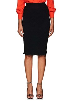 Altuzarra Women's Tumbleweed Smocked Pencil Skirt