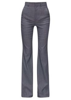 Altuzarra Zeke striped wool-blend trousers