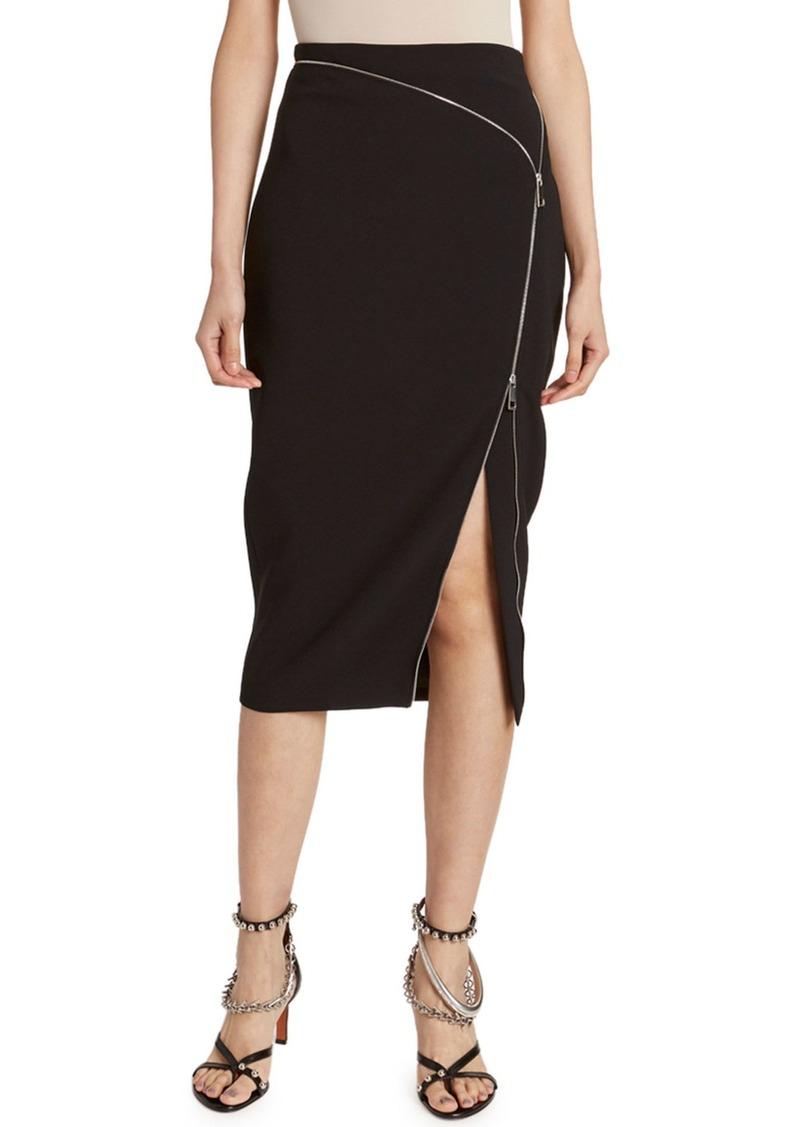 Altuzarra Zip-Front Pencil Skirt