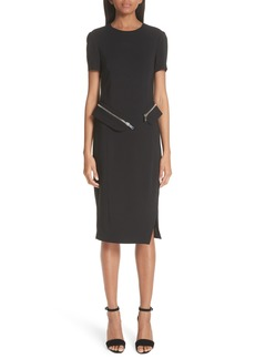 Altuzarra Zip-Off Peplum Dress