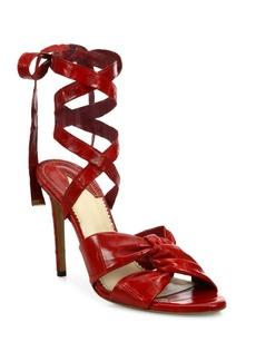 Altuzarra Zuni Eel Wraparound Sandals